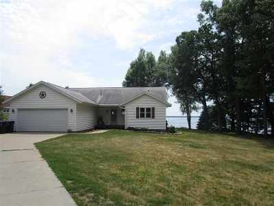 Shawano Single Family Home Active-No Offer: W5907 Lake