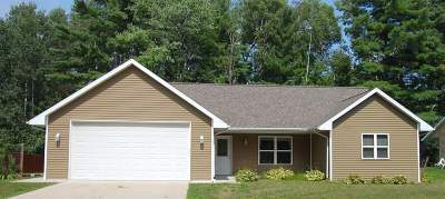 Oconto Single Family Home Active-Offer No Bump: 221 Bitters