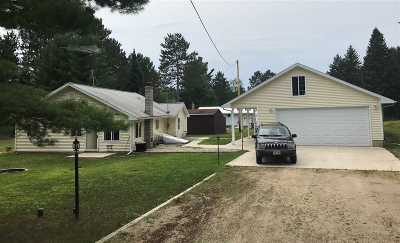 Athelstane Single Family Home Active-No Offer: N11785 Deer Lake