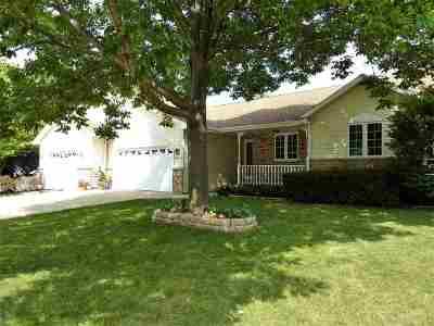 Kaukauna Single Family Home Active-No Offer: 2106 Glenview