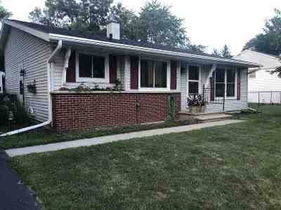 Neenah Single Family Home Active-Offer No Bump: 1470 Deerwood