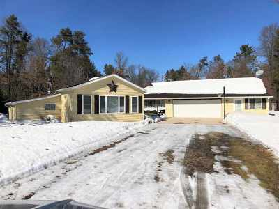 Crivitz Single Family Home Active-No Offer: W11836 S Pine