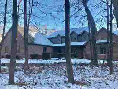 Neenah Single Family Home Active-No Offer: 1653 Paynes Point