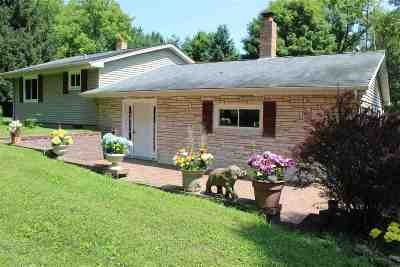 Waupaca Single Family Home Active-No Offer: N3420 Constance