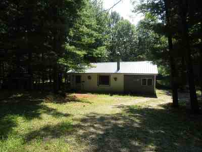 Shawano Single Family Home Active-No Offer: N6716 Black Oak