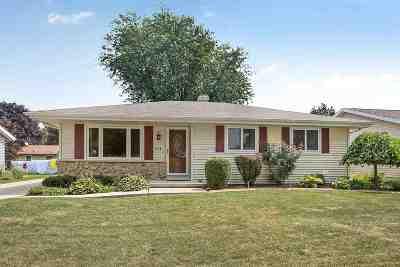 Appleton Single Family Home Active-No Offer: 2518 S Schaefer