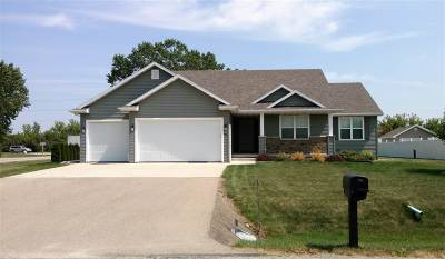 Neenah Single Family Home Active-Offer No Bump: 706 Milkweed