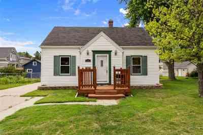 Neenah Single Family Home Active-Offer No Bump: 112 Edna