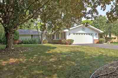 Appleton Single Family Home Active-No Offer: 2824 E Crestview