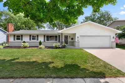 Appleton WI Single Family Home Active-Offer No Bump: $209,900