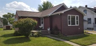 Menasha Single Family Home Active-No Offer: 817 Roosevelt