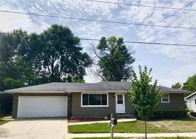 Appleton WI Single Family Home Active-No Offer: $174,900