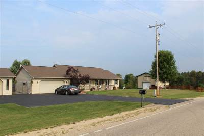 Shawano County Single Family Home Active-No Offer: N4357 Hwy T