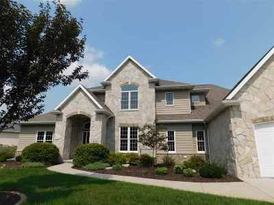 Combined Locks Single Family Home Active-Offer No Bump: 409 Hidden Ridges