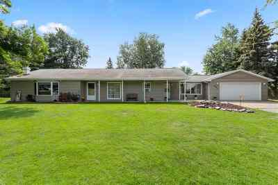 Appleton WI Single Family Home Active-Offer No Bump: $163,444
