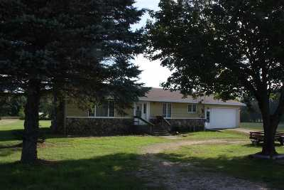 Shawano County Single Family Home Active-No Offer: N4490 Hwy Cc