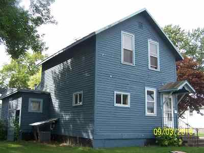 Oconto Single Family Home Active-Offer No Bump: 310 Center
