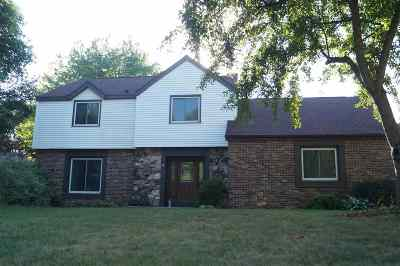 Neenah Single Family Home Active-Offer No Bump: 1055 Pilgrim