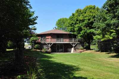 Neenah Single Family Home Active-No Offer: 1555 Butte Des Morts Beach