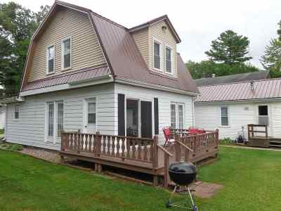 Shawano County Multi Family Home Active-No Offer: W5833 Sunset