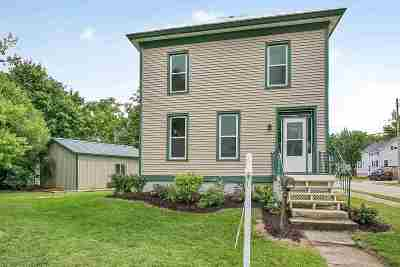 Oconto Single Family Home Active-Offer No Bump: 202 2nd