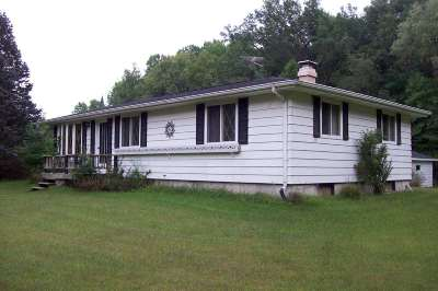 Single Family Home Active-No Offer: W7475 Airport