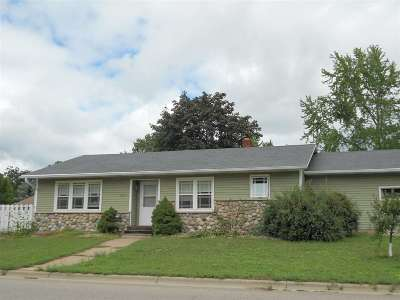 Shawano County Single Family Home Active-No Offer: 1215 E Lieg