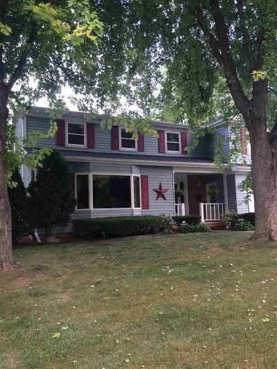 Neenah Single Family Home Active-Offer No Bump: 1080 Eden