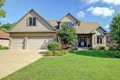 Appleton Single Family Home Active-No Offer: 4716 W Grand Meadows