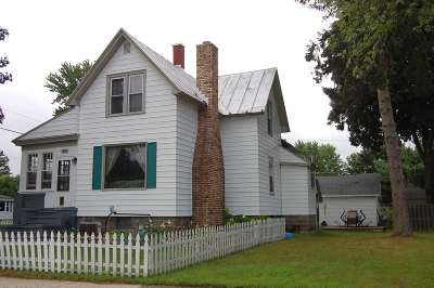 Single Family Home Active-No Offer: 856 Madison