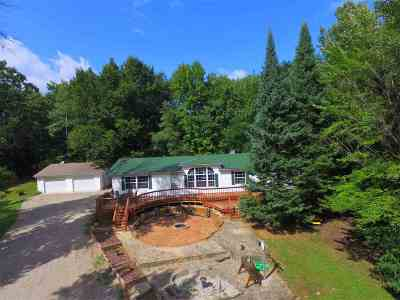 Wausaukee Single Family Home Active-No Offer: N9183 Pines