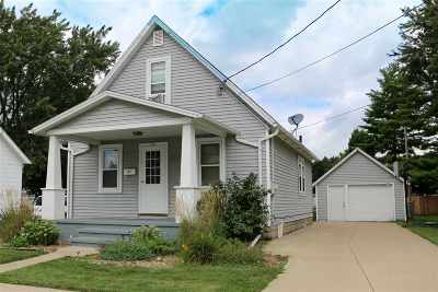 Combined Locks Single Family Home Active-No Offer: 210 Elm
