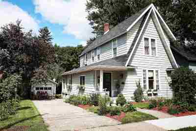 Gillett Single Family Home Active-No Offer: 129 E 1st