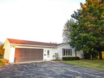 Oconto Single Family Home Active-No Offer: 6538 Hwy J