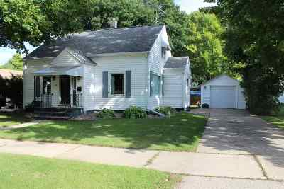 Oconto Falls WI Single Family Home Active-No Offer: $110,000