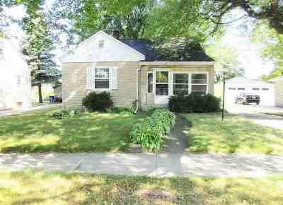 Green Bay Single Family Home Active-No Offer: 1545 Elm
