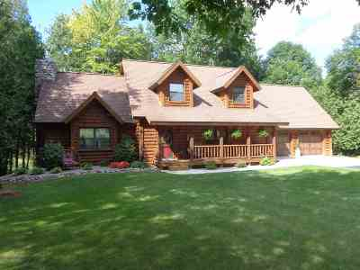 Shawano County Single Family Home Active-No Offer: N7221 River Heights