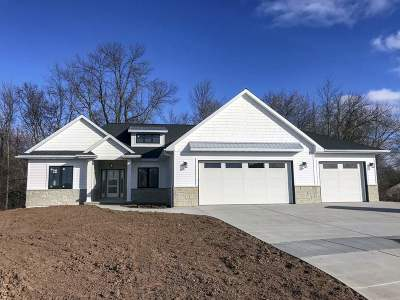 De Pere Single Family Home Active-No Offer: 930 Hoks Ridge