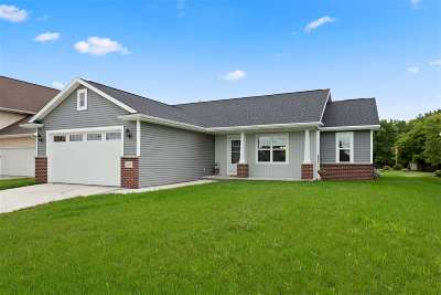 Neenah Single Family Home Active-Offer No Bump: 2697 Cavalry