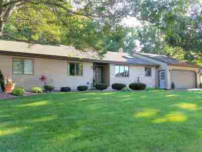 Menasha Single Family Home Active-Offer No Bump: 1405 Geneva