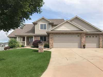 Green Bay Single Family Home Active-No Offer: 3489 Spyglass Hill