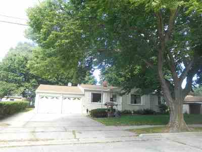Green Bay Single Family Home Active-No Offer: 522 Irene