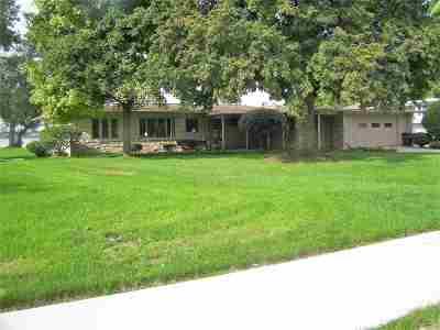Oshkosh Single Family Home Active-No Offer: 1015 Bay Shore