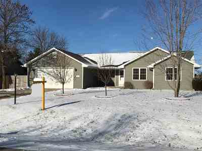 Neenah Single Family Home Active-No Offer: 1196 Kluck