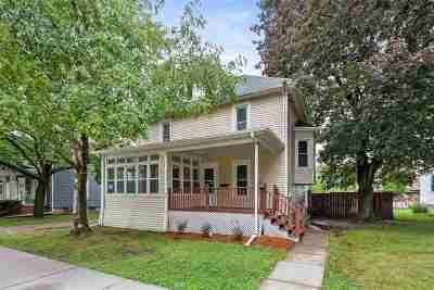 Menasha Single Family Home Active-No Offer: 348 3rd