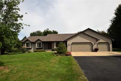 Green Bay Single Family Home Active-No Offer: 2682 Stonegate