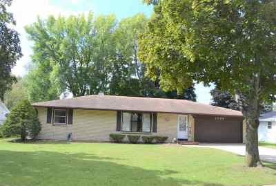 Green Bay Single Family Home Active-No Offer: 1709 Westfield