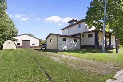Black Creek Single Family Home Active-No Offer: N9274 Hwy X