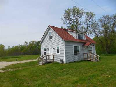 Luxemburg Single Family Home Active-No Offer: 113 Hwy Dk