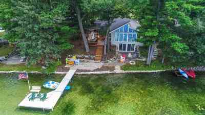Waupaca Single Family Home Active-No Offer: N2475 E Miner